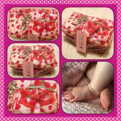 Baby girl gift spoiling special mummy too from www.tinyfeethampers.co.uk Bespoke Mother and Baby hampers. Deliver UK. #babygirl #babygift