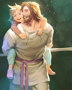 Aw yeah anime Jesus is what I live for lmao Christian Paintings, Christian Artwork, Jesus Is Risen, Jesus Loves, Jesus Art, God Jesus, Jesus Drawings, Jesus Cartoon, Pictures Of Jesus Christ
