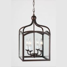 Antique-Bronze-4-light-Fixture-Ceiling-Hanging-Lantern-Dining-Pendant-873-JV-409 $116 (it's small)