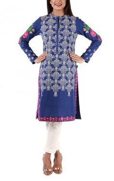 Ego Eid al-Adha Collection 2016 For Young Girls #Ego #EidCollection #Embroidered #Dresses #LuxuryWear #DesignerWear #Fashion