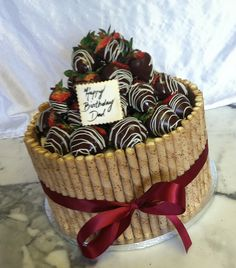 Chocolate Covered Strawberry Cake | Chocolate Covered Strawberry Cake | Flickr - Photo Sharing!