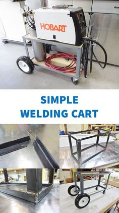 Great beginner welding project.