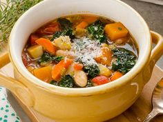 super ideas for soup legumes automne Quebec, Meatballs And Gravy, Whole Food Recipes, Healthy Recipes, Healthy Soups, Healthy Food, Vegetable Soup Recipes, Batch Cooking, One Pot Meals