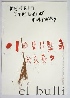 Sketches from the elBulli Kitchen. Pictured: Ferran Adrià, Theory of Culinary Evolution, 2013; crayon, paint stick, and colored pencil; sixty drawings, each 11 11/16 x 8 1/4 inches; courtesy of elBullifoundation