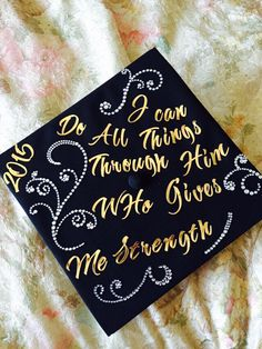 How I decorated my Cap for my College graduation! Nursing School Graduation, High School Graduation, Graduation Gifts, Graduation Outfits, Graduation Cap Designs, Graduation Cap Decoration, Rn Graduation Pictures, Cap Decorations, Cap Ideas