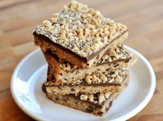 Chocolate Toffee Shortbread Bars | Mel's Kitchen Cafe