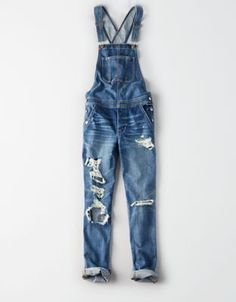 AE Tomgirl Overall by  American Eagle Outfitters | Relaxed but not loose. Cool without trying too hard. Your favorite jean in an overall. Relaxed but not loose. Cool without trying too hard. Your favorite jean in an overall.  Shop the AE Tomgirl Overall and check out more at AE.com.