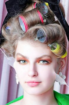 Roller Set, Pin Curls, Curlers, Witches, Hair Styles, Beauty, Food, Hair Plait Styles, Bruges