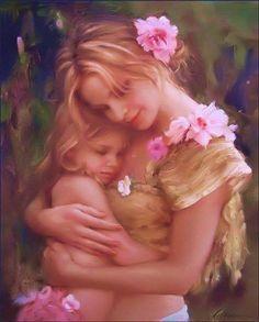 Pensées positives Améliore ton moral: A toi ma fille.