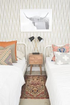 With hundreds of different pattern variations available on the market, stencils are a surefire way to completely change up your space with interesting patterns and prints. We think this one $25 purchase can do wonders for your home. So grab some paint and roll up your sleeves, because we've rounded up different ways to use stencils in your next home project.