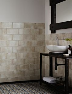 A unique collection of crackle effect tiles designed to bring vintage style into your home.