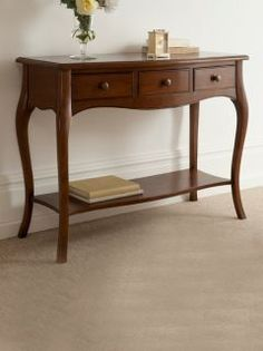The Dormy House console table Wants Pinterest Shelves