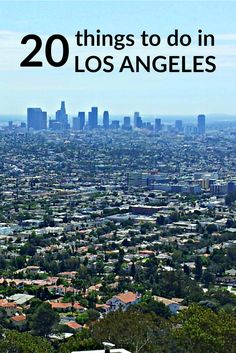 I absolutely love Los Angeles, California. From concerts and dining to nature and shopping, here are 20 things to do in the region.