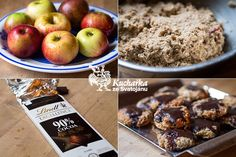 Kuchařka ze Svatojánu: JABLEČNÁ KOLEČKA Cocoa, Cereal, Oatmeal, Apple, Cookies, Fruit, Healthy, Breakfast, Fitness
