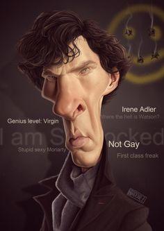 Sherlock (Benedict Cumberbatch) - Digital color