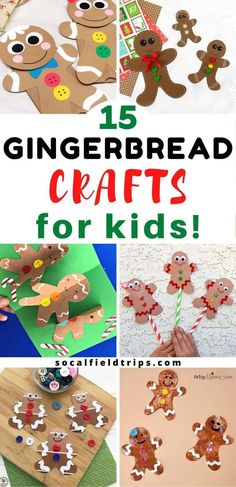 Make one of these this cute and easy gingerbread man crafts this Christmas! They are simple Christmas crafts for preschool, kindergarten and elementary children. #preschool #stem #stemactivities #steam #toddler #christmas #christmascraft #gingerbread #gingerbreadman #gingerbreadmancraft #kidscraft #kidscrafts #kidsactivities Christmas Crafts For Kids To Make, Christmas Activities For Kids, Art Activities For Kids, Handmade Christmas Decorations, Craft Projects For Kids, Fun Crafts For Kids, Christmas To Do List, Holiday Crafts, Toddler Christmas