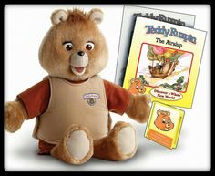 Teddy Ruxpin...yes, I definitely had him!  :-)