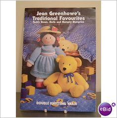 Jean Greenhowe's Bears, Dolls, Clown and Humpty Pattern Listing in the Toys,Patterns,Knitting & Crochet,Crafts, Handmade & Sewing Category on eBid United Kingdom