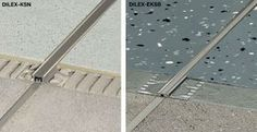 Schluter-Systems - Trim and expansion joint profiles for counter, floor and wall