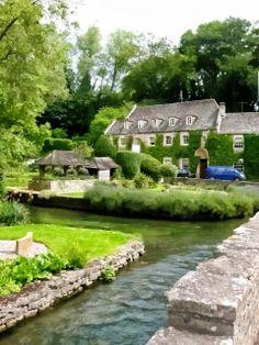 The Swan Bibury, Cotswolds, UK