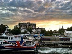Victoria BC sunset & clouds  #victoria_bc #canada #victoria