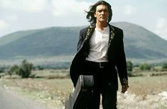 Banderas in 2003 as El Mariachi in Once Upon a Time in Mexico