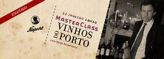 22 JAN´16 | MasterClass Vinhos do Porto com Nick Delaforce & Niepoort @ Feeling Grape - Oporto Wine & Food Atelier