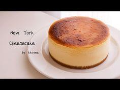 New York Cheese Cake 뉴욕 치즈케이크:크리미하고 진한 치즈케이크 만들기 | Kkuume 꾸움 - YouTube