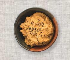 Roasted Carrot Hummus from The Happy Pear. The perfect recipe to celebrate #hummusday!