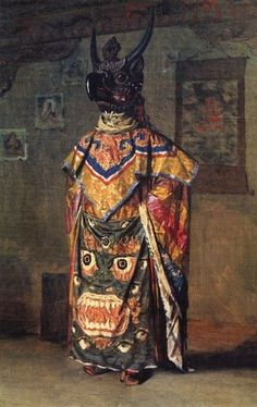 Garuda - Cham Dancer, Tibet