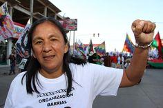 Entregaron condecoración a activista nativa argentina