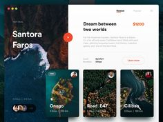 Perfect Journey Shop To give you some inspiration and help you along with your next project, we have collected 50 Excellent Grid Web UI Design Examples for web design inspiration in Design Web, Web Design Tutorial, Web Design Trends, Design Blog, Page Design, Travel Website Design, Travel Design, Website Design Inspiration, Web Layout