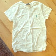 Ralph Lauren white Tshirt Ralph Lauren sport white Tshirt Ralph Lauren Tops