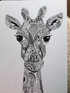 Funky giraffe!