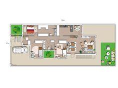 La casa soñada de @mamiandchic Interior Architecture, Interior Design, Nordic Style, Neutral Tones, House Tours, New Homes, Floor Plans, How To Plan, Home Decor