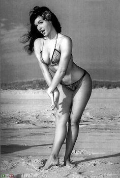 <3 me some Betty Page.  Back then women used to look like women!