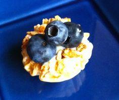 Mini lemon tartlets. Super easy using ready made phyllo cups