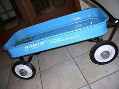 blue radio flyer wagon | Radio Ball Bearing Rocket Powder Blue Wagon | eBay