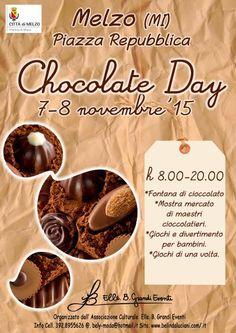 Chocolate Day il 7 e 8 Novembre a Melzo (MI)