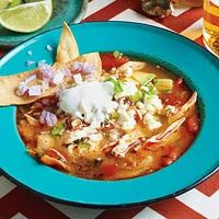 Tortilla Soup - delicious!