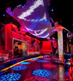 TOP 10 Las Vegas Nightclub: Vanity Nightclub at Hard Rock Hotel & Casino Hard Rock Hotel, Art Madrid, Madrid Barcelona, Barcelona Spain, Las Vegas Nightlife, Nevada, Nightclub Design, Penthouse For Sale, Club Lighting