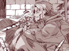 Rivaille (Levi) x Eren Jaeger
