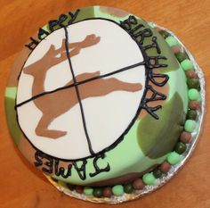 hunting cakes | Hunting themed cake | Cakes