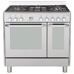 Buy John Lewis JLRC906 Dual Fuel Range Cooker, Stainless Steel Online