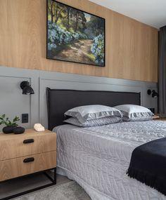 Bedroom Wall Designs, Bedroom Bed Design, Home Room Design, Home Interior Design, Master Bedroom Interior, Cozy Bedroom, Bedroom Decor, Couple Room, Dream House Interior