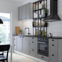 Ikea Kitchen, Home Decor Kitchen, Kitchen Design, Kitchen Cabinets, Decorating Your Home, Interior Decorating, Interior Design, Cuisines Design, Boy Room