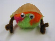 Hermit Crab Craft. Summer Reading Club 2013.