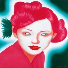 Painting by Feng Zhengjie