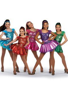 14278 - Divas #dancecostume #dancerecital #sequindress
