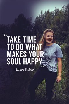 *S&B in Germany* . - If the whole world was watching what would you say, Laura? -Take time to do what makes your soul happy!